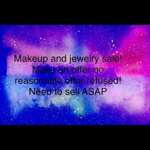 Jewelry - Makeup and jewelry sale!